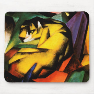 Franz Marc - Tiger (1912) Mouse Pad