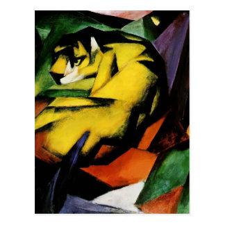Franz Marc- Tiger Postcard