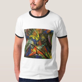 Franz Marc - Tyrol Tirol 1914 Oil Canvas Light Orb T-Shirt