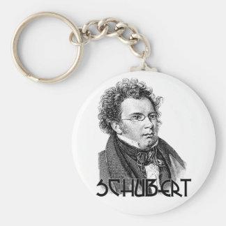 Franz Schubert Keychain