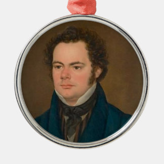 Franz Schubert Metal Ornament