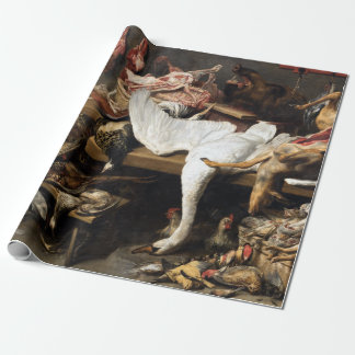 Franz Snyder A Game Stall Wrapping Paper