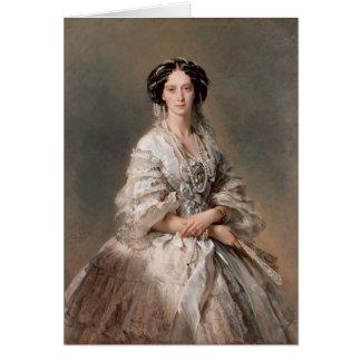 Franz Winterhalter- Portrait of Empress Maria Card