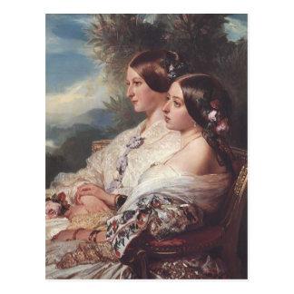 Franz Winterhalter- The Cousins Postcard