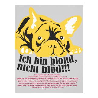 Französische Bulldogge Blond Vollfarbige Flyer