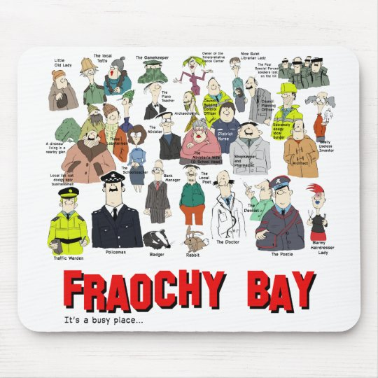 Fraochy Bay Mousemat Mouse Pad