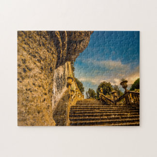 Frascati Stairs Rome. Jigsaw Puzzle