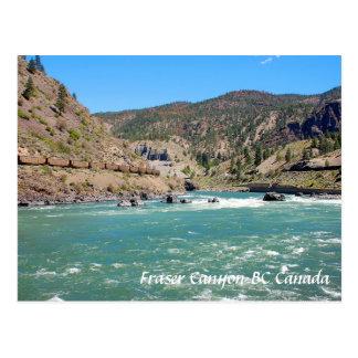 Fraser Canyon BC Canada Postcard