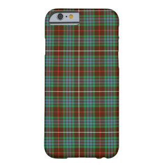 Fraser Clan Brown, Green and Blue Hunting Tartan Barely There iPhone 6 Case