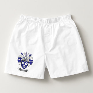Fraser Family Crest Coat of Arms Boxers