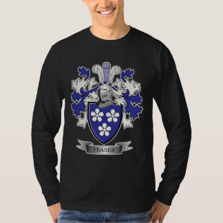 Fraser Family Crest Coat of Arms T-Shirt