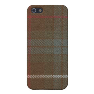 Fraser Hunting Weathered Tartan iPhone 4 Case