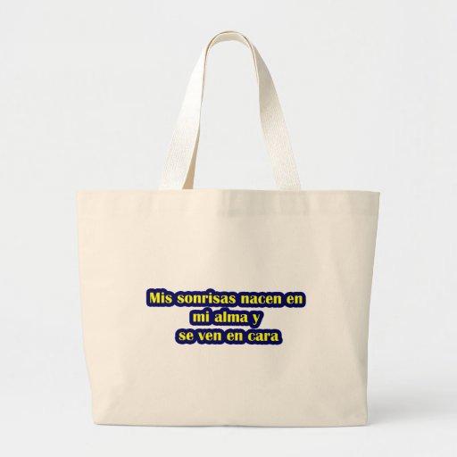 Frases master 12.06. canvas bag