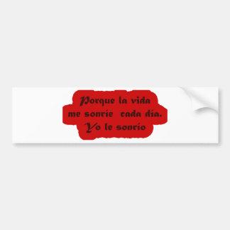 Frases Master 12.10 Bumper Sticker