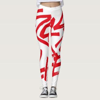Frass 4 Life - Leggings full red