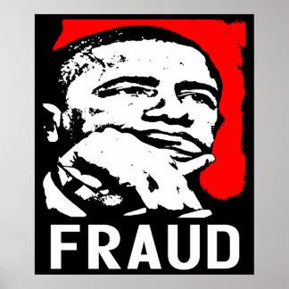 Fraud: Barack Obama! Poster