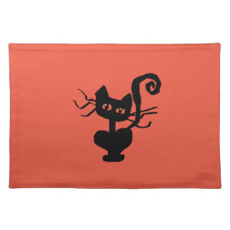 Frazzle Kitty Cartoon Cat Placemat