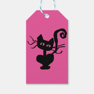 Frazzle Kitty Gift Wrapping Fun Gift Tags