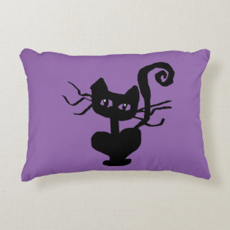 Frazzle Kitty Home Decor Accent Pillow