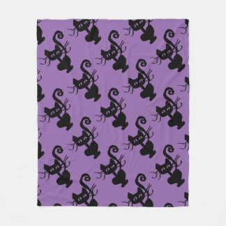Frazzle Kitty Home Decor Fleece Blanket