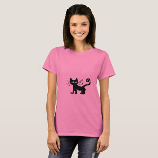 Frazzle Kitty Women's Basic T-Shirt