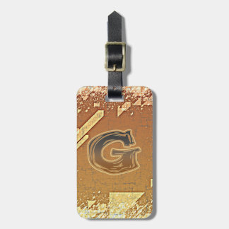 FRAZZLE MONOGRAM G LUGGAGE TAG