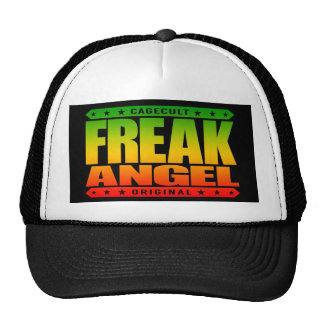 FREAK ANGEL - A Feminist Fighter With Superpowers Trucker Hat