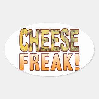 Freak Blue Cheese Oval Sticker