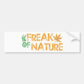Freak of Nature Bumper Sticker
