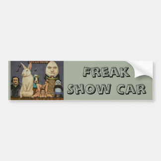 Freak Show Bumper Sticker