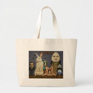 Freak Show Large Tote Bag
