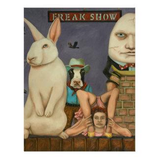 Freak Show Letterhead