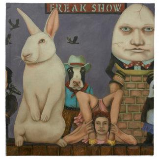 Freak Show Napkin