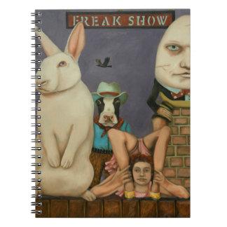 Freak Show Notebooks