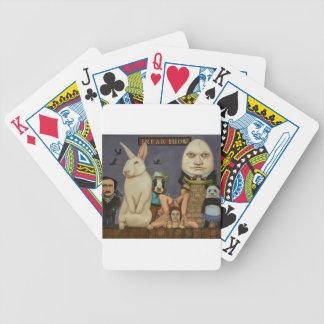 Freak Show Poker Deck