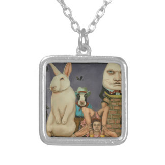 Freak Show Silver Plated Necklace