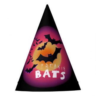 Freakin Bats Halloween ID223 Party Hat
