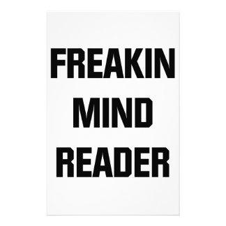 Freakin Mind Reader Stationery