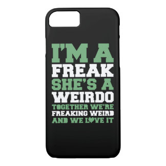 Freakin Weird Best Friends iPhone 7 Case