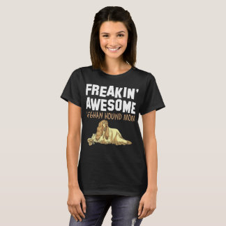 Freaking Awesome Afghan Hound Mom T-Shirt