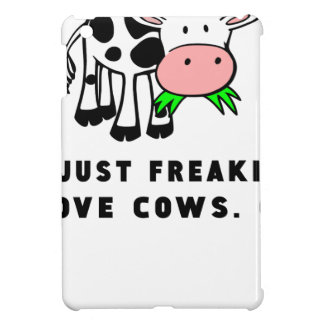 Freaking love cows ok cover for the iPad mini