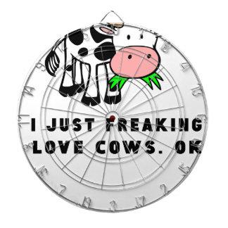 Freaking love cows ok dartboard