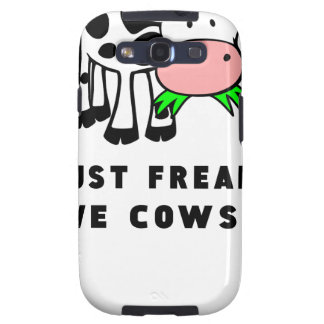 Freaking love cows ok galaxy s3 covers