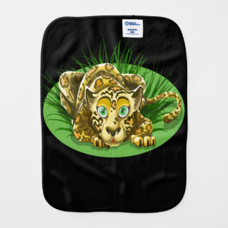 Freaky and Funny Leopard Burp Cloths
