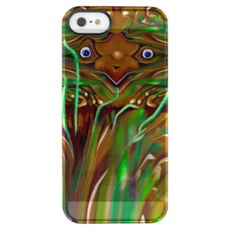 Freaky Grasshopper Clear iPhone SE/5/5s Case