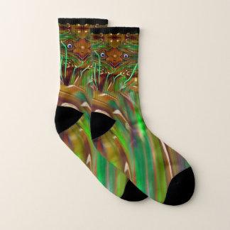 Freaky Grasshopper Socks