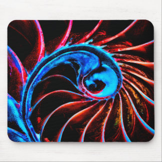 Freaky Nautilus Mouse Pad
