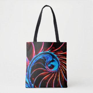 Freaky Nautilus Tote Bag