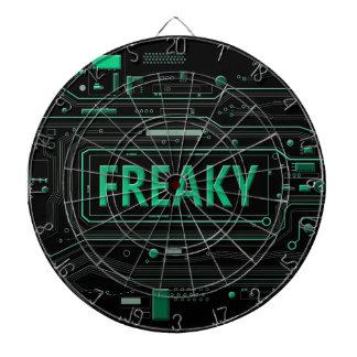 Freaky tech. dartboard