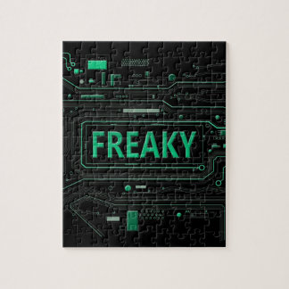 Freaky tech. jigsaw puzzle